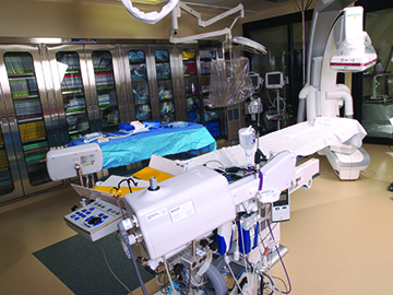 cardiac cath lab