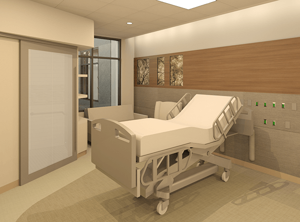 CCMH inpatient room redesign details