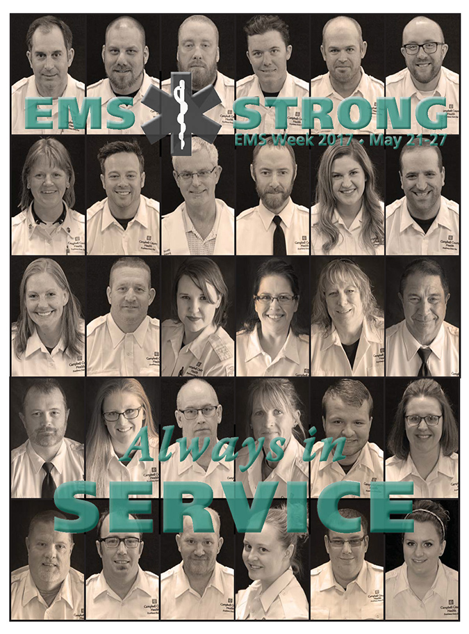 The Face of EMS for EMS Week 2017