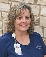 Sherry Bailey is the Director of the ICU