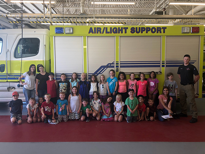 CCH Childcare Campbell County Fire Department 2018