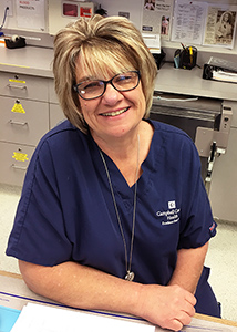 CCH Lori Hoesing, RN< Dialysis Manager