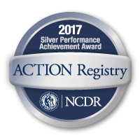 American College of Cardiology NCDR ACTION Registry Silver Award