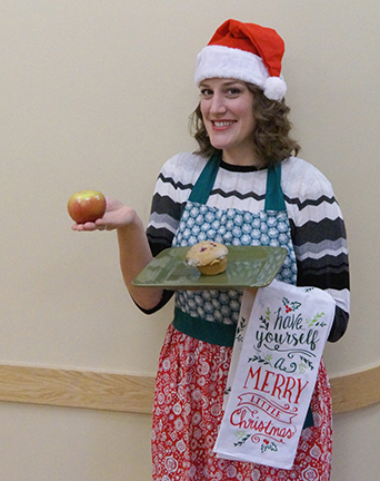 CCH Chose your own healthy holiday adventure Nutrition 101 session with Jamie Marchetti in Gillette, Wyoming